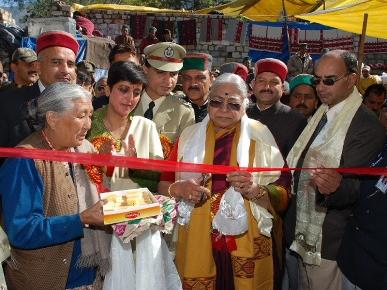Governor Prabha Rau Inaugurating the 3 Day Lavi Mela