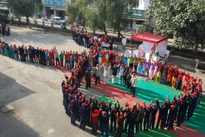 Youth of RRC in red ribbon formation
