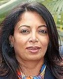 Niira Radia pays obeisance at Badrinath