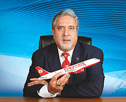 Mallya defends Kingfisher even as flights curtailed