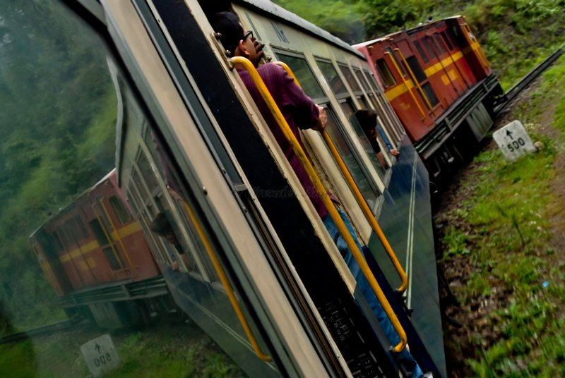 Holiday special toy train bound for snow-clad Shimla