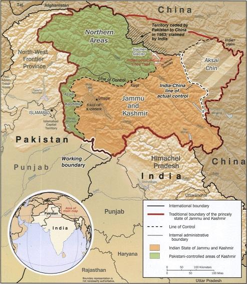 Kashmir_map_big, Jammu and Kashmir News