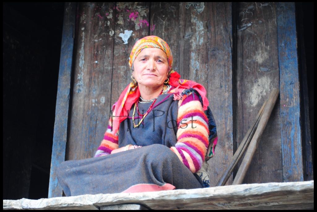 A Bhangali Lady