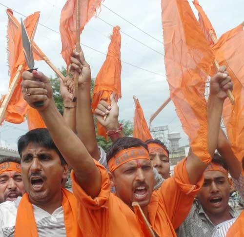 Bajrang Dal Assam Bandh_NE Exodus