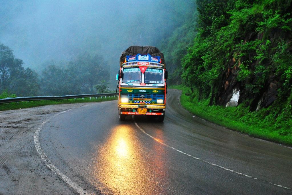 Rainy Day in Shimla