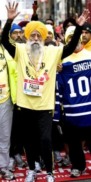 Fauja Singh Marathoner