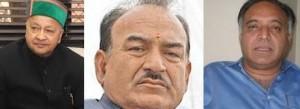Himachal Congress - Virbhadra Singh - Kaul Singh Thakur - GS Bali