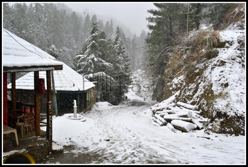 Kandha Village, Siraj Valley, Mandi