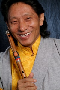 Monk musician Nawang Khechog uses his flute to bridge cultures and heal