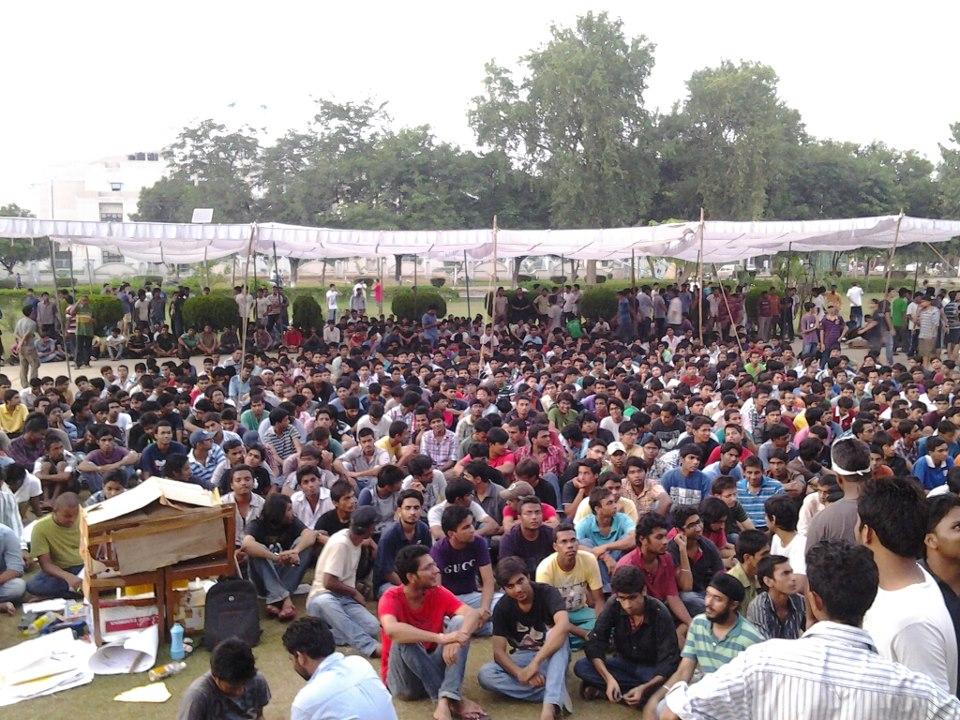 NIT Kurukshetra Protest