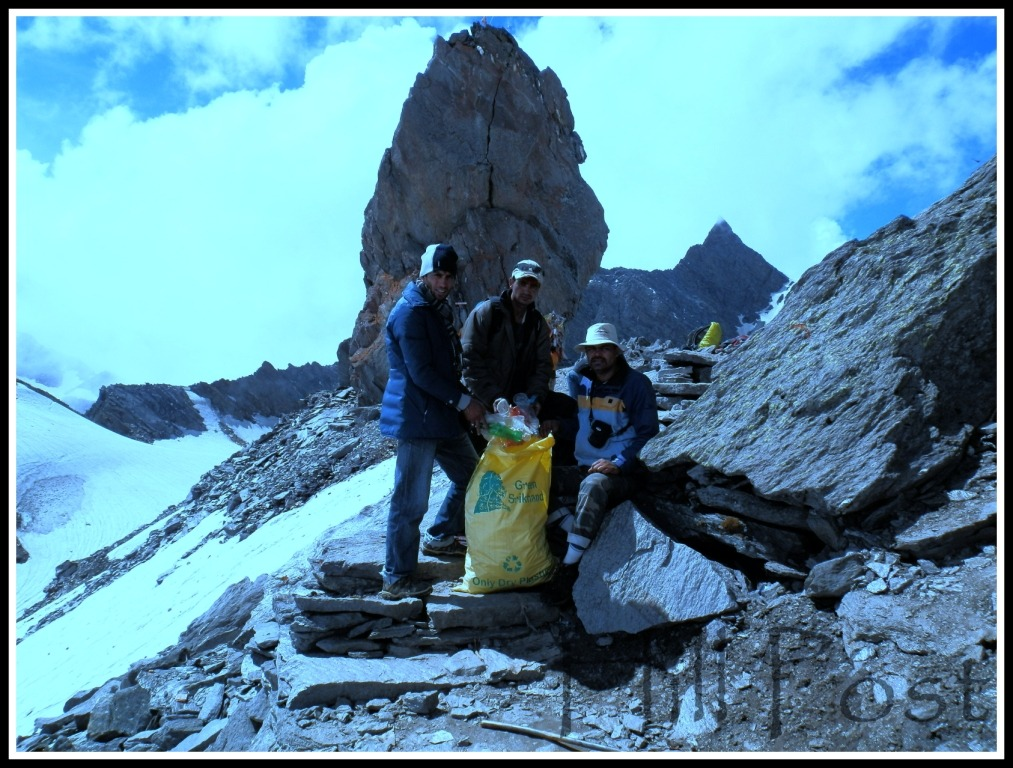 Srikhand Mahadev Kailash Clean Up Drive