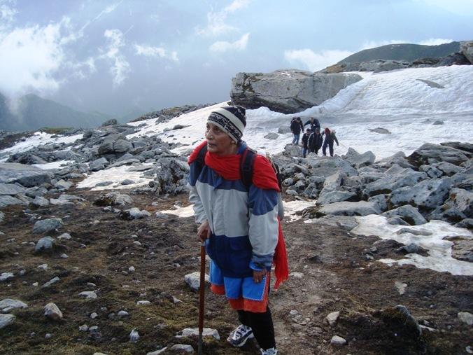 Pic 1 - Ascent to Shrikhand Mahadev Kailash in Himachal Pradesh