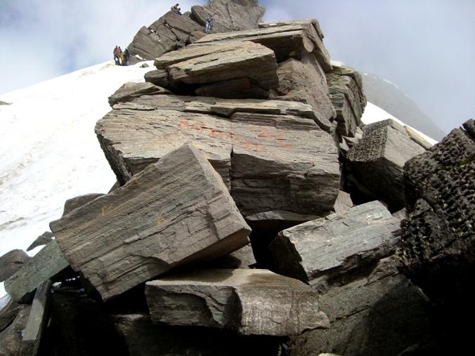 Pic 10 - Big Stone Slabs - Near Shrikhand Kailash Mahadev Peak in HP