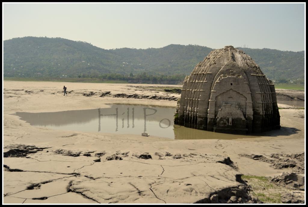 Submerged Temples in Gobind Sagar Bilaspur