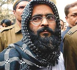 Afzal Guru Parliament Attack Convict