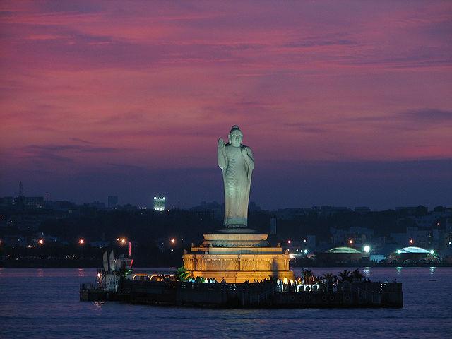 Hyderabad Hussain Sagar lake India