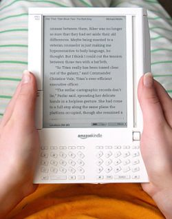 New Kindle e-reader by Amazon