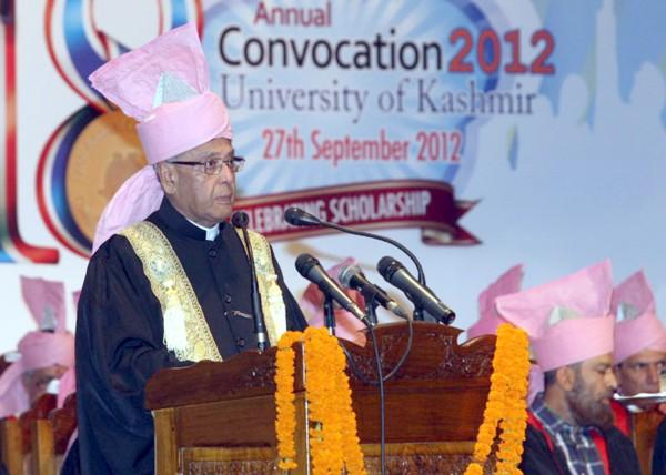 President Pranab in Kashmir