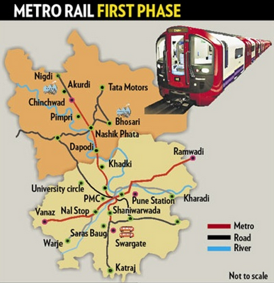 Pune Metro First Phase