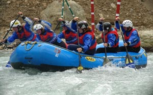 Sonamarg Water Rafting