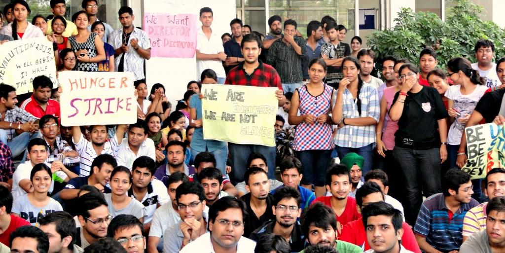 UIET Hoshiarpur Strike Demands
