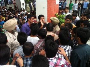 UIET Hoshiarpur Strike