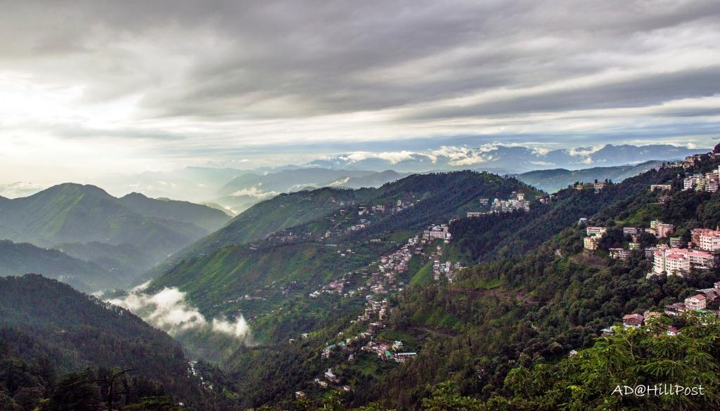 A beautiful monsoon evening at Shimla
