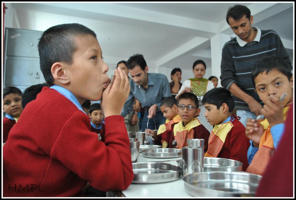 HMPL Team Enjoying with Udaan Kids