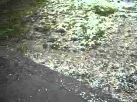 Hailstorm in Batargalu