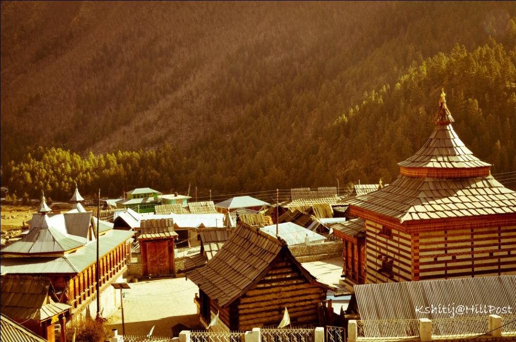 Kinnaur Village in Sangla Chittkul
