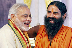 Modi Ramdev Alliance Gujarat Elections