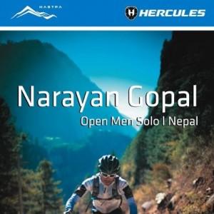 Narayan Gopal MTB Himalaya 2012 WInner