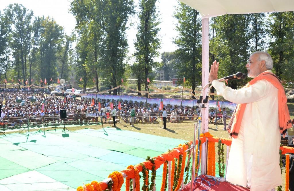 Narendra Modi Mandi Rally Pics (1)