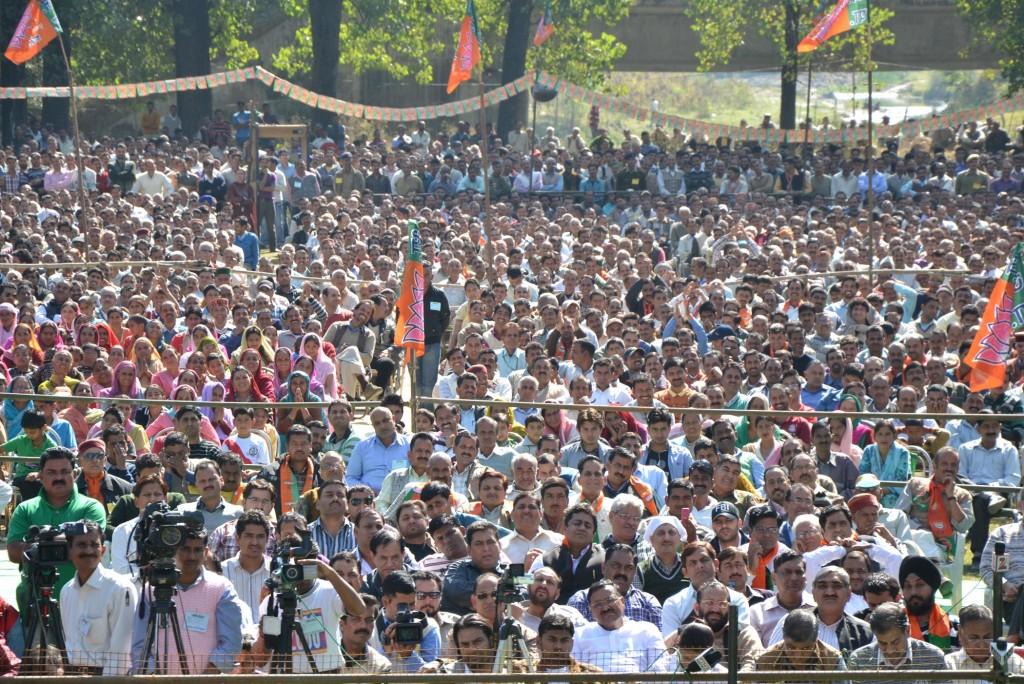 Narendra Modi Mandi Rally Pics