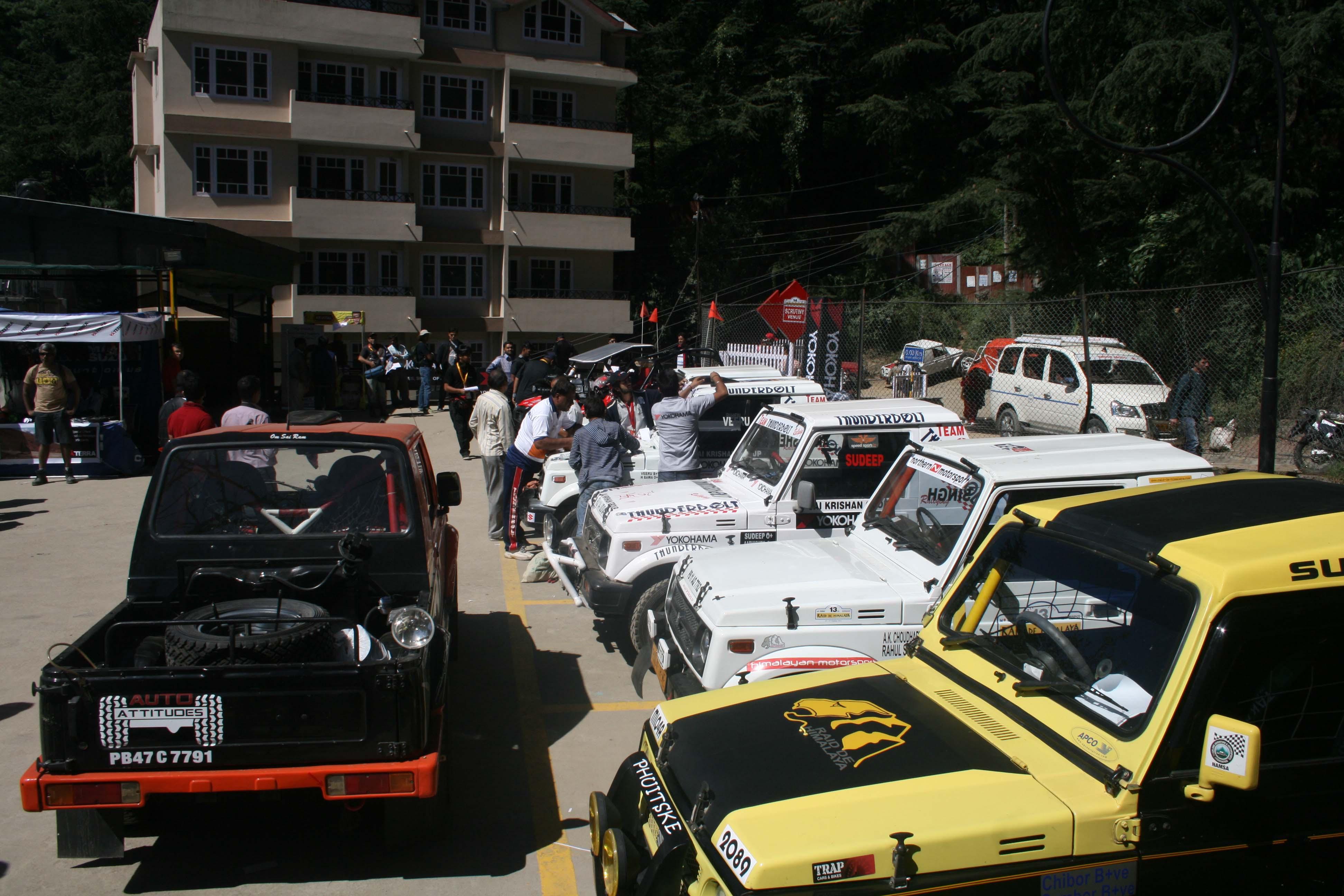 Raid De Himalaya 2012 Take Off