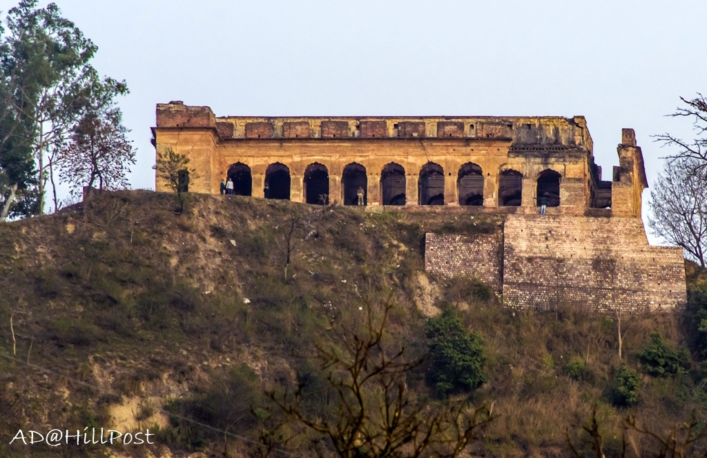 Sujanpur Fort in Hamirpur District