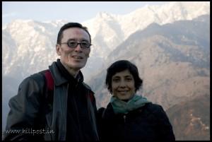 Tenzing & Ritu_Dharamsala International Film Festival