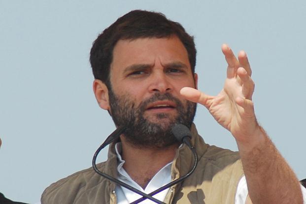 Rahul Gandhi in Srinagar