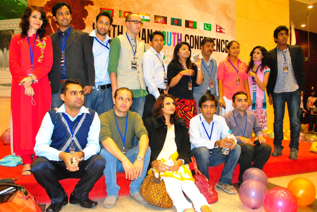 SAYC 2012 Delegates from 8 Countries