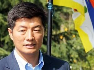 Tibetan PM Lobsang Sangaya