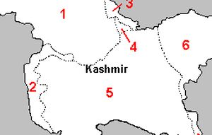 Candidates for council seats in J&K