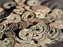 Ancient Coins found in China