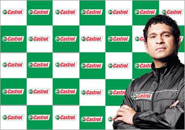 Castrol Brand Ambassador Sachin