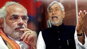Nitish and Modi