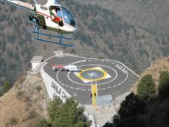Pawan Hans Helicopter Service - Vashno Devi Shrine