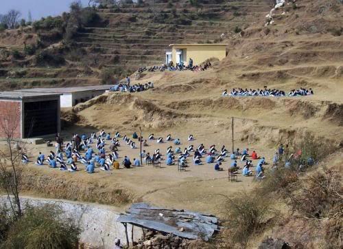 A rural school in Uttarakhand