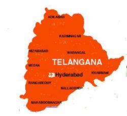 Protests in Telangana
