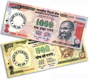 Two men held for circulating fake indian currency notes