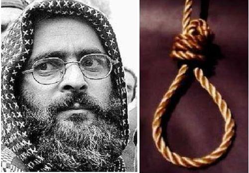 Afzal Guru hanged in Tihar Jail