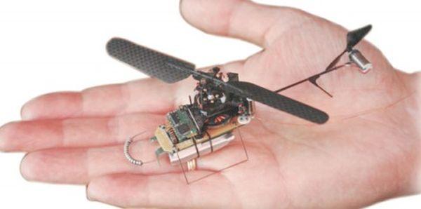 Black Hornet British Palm-sized drone